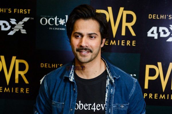 Varun Dhawan At The Song Launch Of October