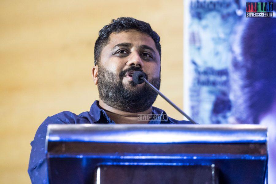 KE Gnanavelraja At The NOTA Press Meet