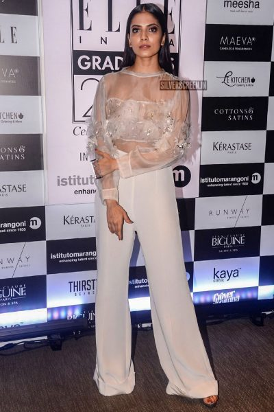 Malavika Mohanan At The Elle Graduate Evening 2018