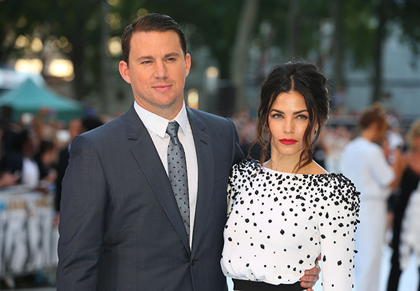 Image result for channing jenna split