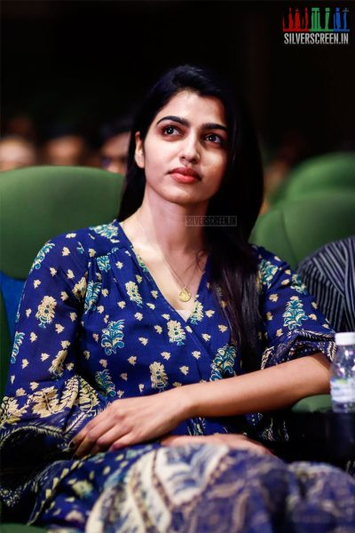 Dhansika At The MGR Sivaji Academy Awards