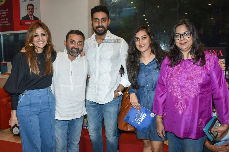 Abhishek Bachchan At The Launch Of Mehaan Doshi's Book 9 Lives
