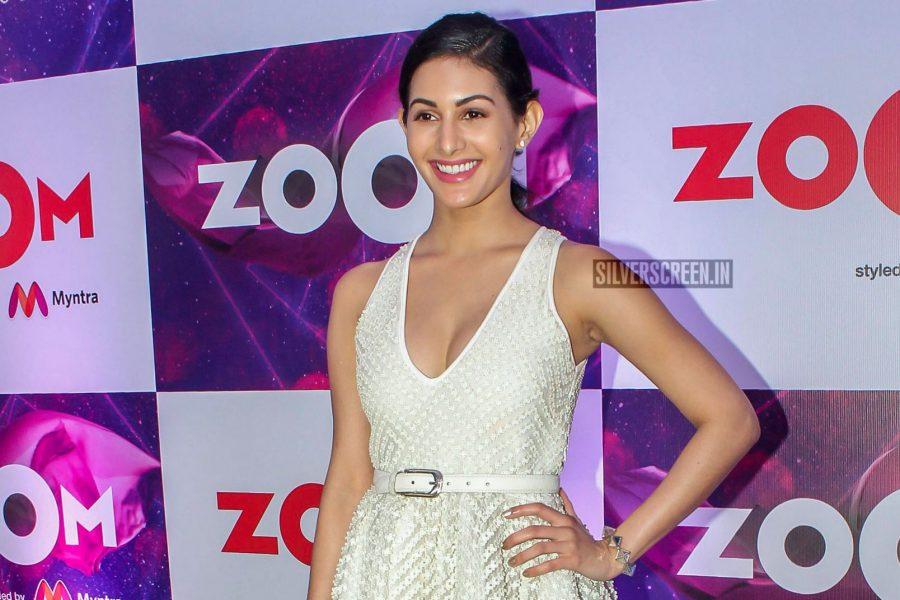 Amyra Dastur At The Red Carpet Of Zoom TV's Styled By Myntra