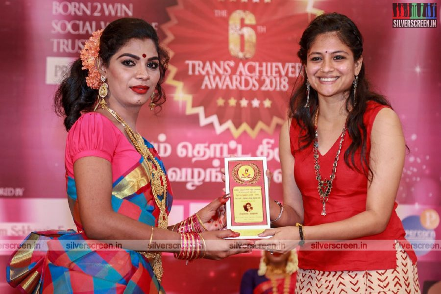 Aditi Balan At The 6th Trans Achiever Awards