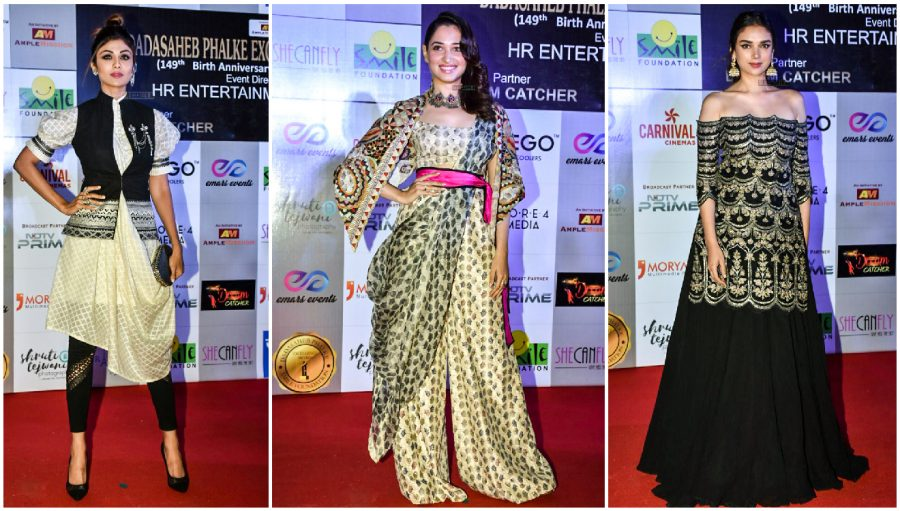 Celebs At The Dadasaheb Phalke Excellence Awards 2018