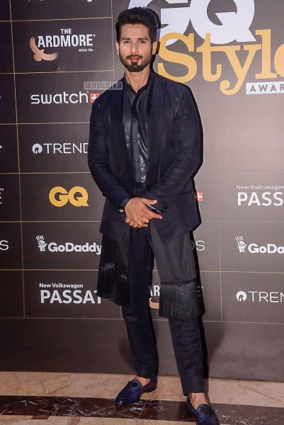 Shahid Kapoor At The GQ Style Awards