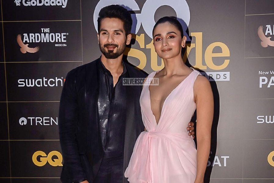 Alia Bhatt And Shahid Kapoor At The GQ Style Awards