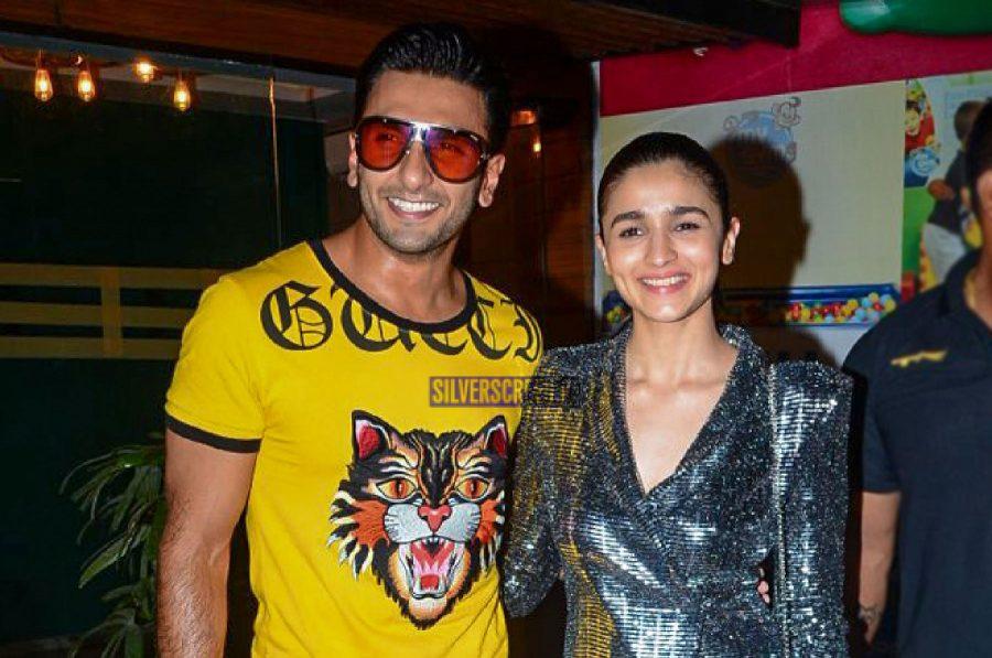 Alia Bhatt, Ranveer Singh At The Gully Boy Wrap-Up Party