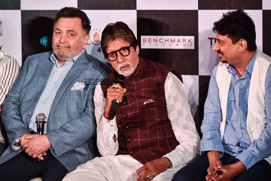 Amitabh Bachchan, Rishi Kapoor At The 102 Not Out Press Meet