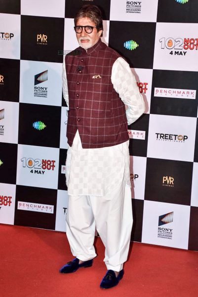 Amitabh Bachchan, Rishi Kapoor At The 102 Not Out Press Meet