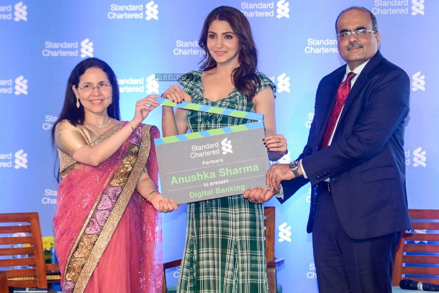 Anushka Sharma Seen In A Rosie Assoulin Maxi Dress At The Press Meet For A Bank