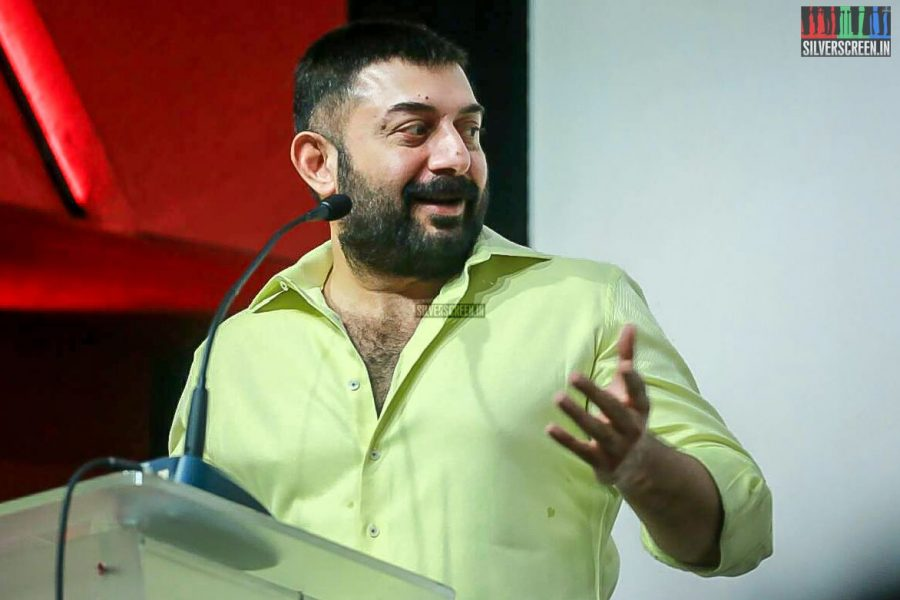 Aravind Swamy At The Bhaskar Oru Rascal Press Meet