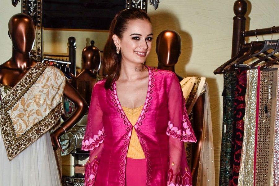 Evelyn Sharma At Mumbai's Jhelum Fashion House