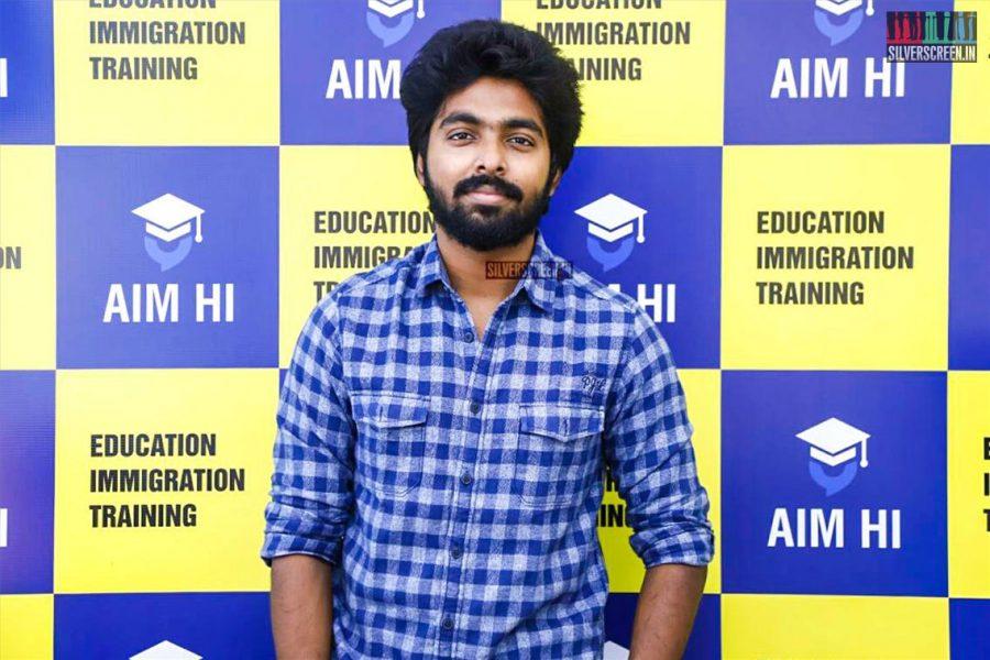 GV Prakash Kumar At The Inauguration Of  'AIM HI' - An Education & Training Company