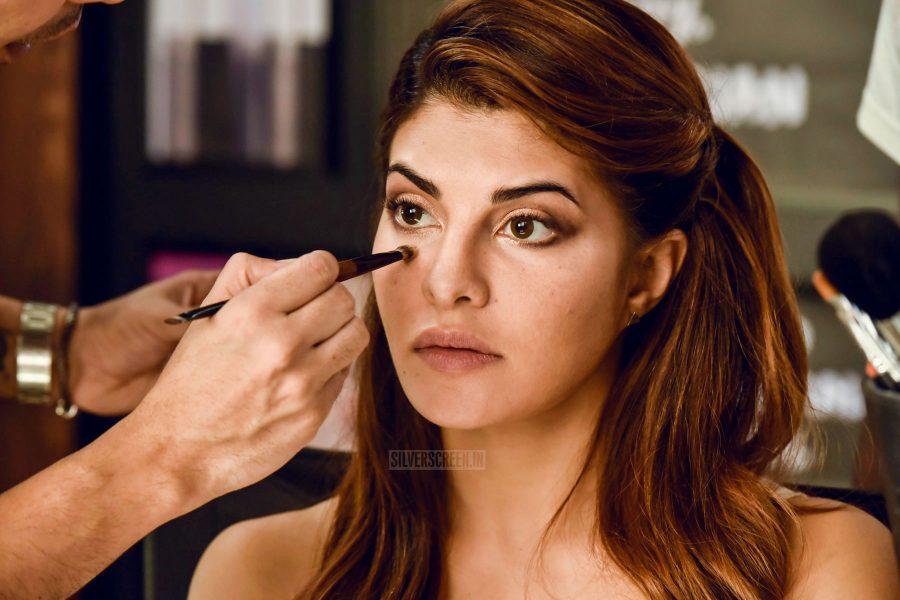 Jacqueline Fernandez At The Body Shop Make-Up Masterclass