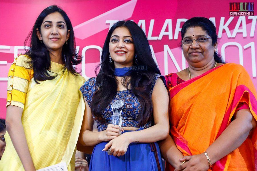Janani At The Thalappakatti's Super Women Event