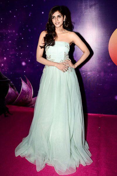Kalyani Priyadasrhan At The Zee Apsara Awards