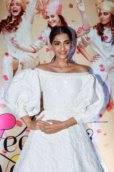 Sonam Kapoor At The Veere Di Wedding Trailer Launch