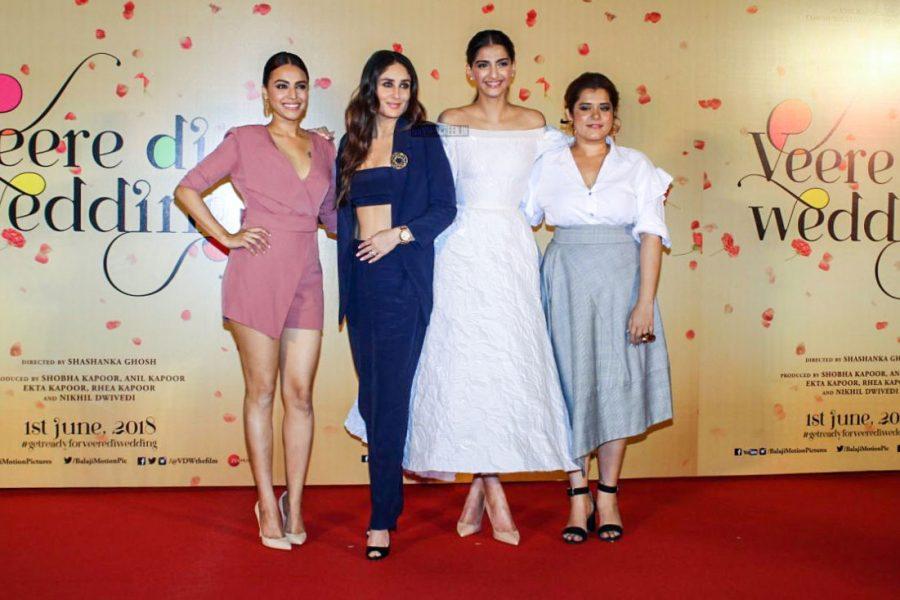 Kareena Kapoor, Sonam Kapoor At The Veere Di Wedding Trailer Launch