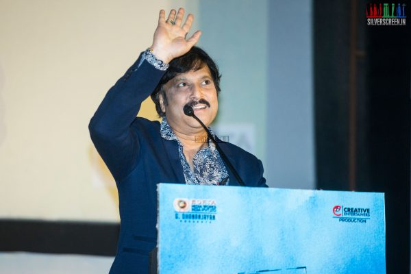 Karthik At The Mr. Chandramouli Audio Launch