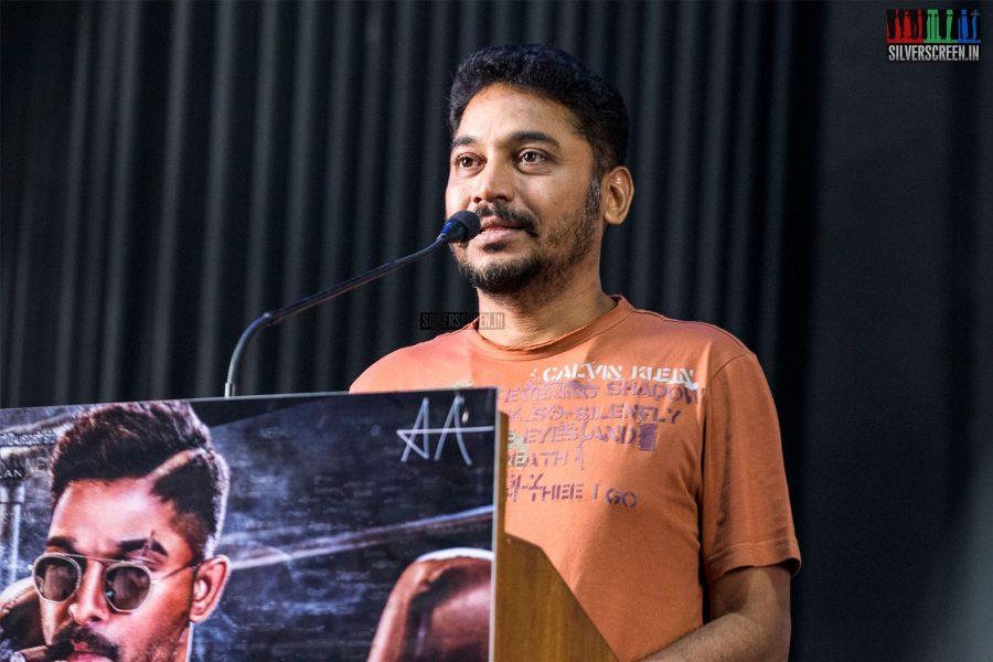 KE Gnanavelraja & Others At The Yen Peru Suriya Yen Veedu India Press Meet
