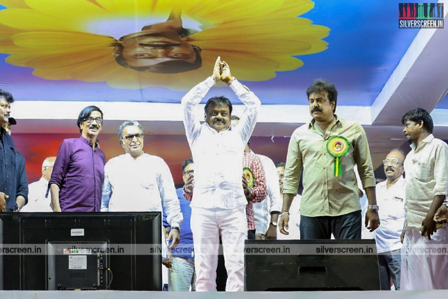 Kollywood Celebrates Vijaykanth's 40 Years In The Film Industry