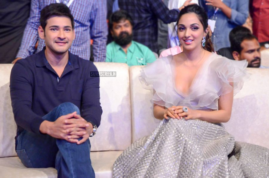 Mahesh Babu, Kiara Advani At The Bharat Bahiranga Sabha Event