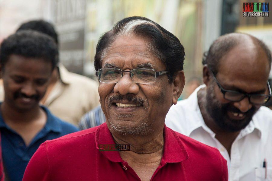 P Bharathiraja And Others At The Kaatu Paya Sir Intha Kaali Audio Launch
