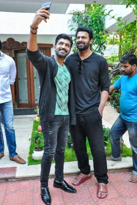 Prabhas, Arun Vijay, Abhinaya At The Crime 23 Trailer Launch