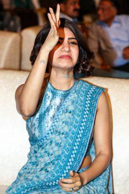 Samantha Ruth Prabhu At The Rangasthalam Success Meet