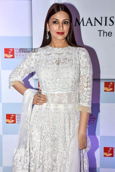 Sonali Bendre At The Manish Malhotra's-The Walk of Mijwan