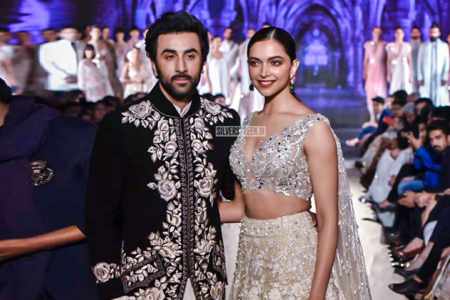 Ranbi Kapoor, Deepika Padukone At The Manish Malhotra's-The Walk of Mijwan