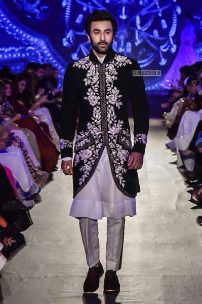 Ranbi Kapoor At The Manish Malhotra's-The Walk of Mijwan