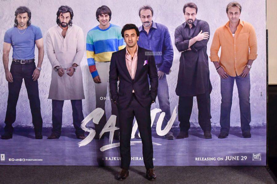 Ranbir Kapoor At The Sanju Teaser Launch