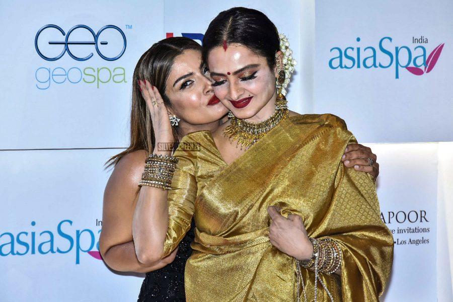 Rekha At The Asia Spa Awards 2017