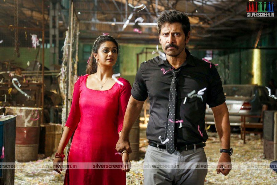 Saamy² Movie Stills Starring Vikram and Keerthy Suresh