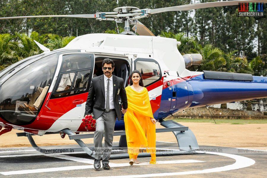Saamy 2 Movie Stills Starring Vikram and Keerthy Suresh