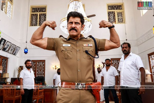 Saamy 2 Movie Stills Starring Vikram and Keerthy Suresh