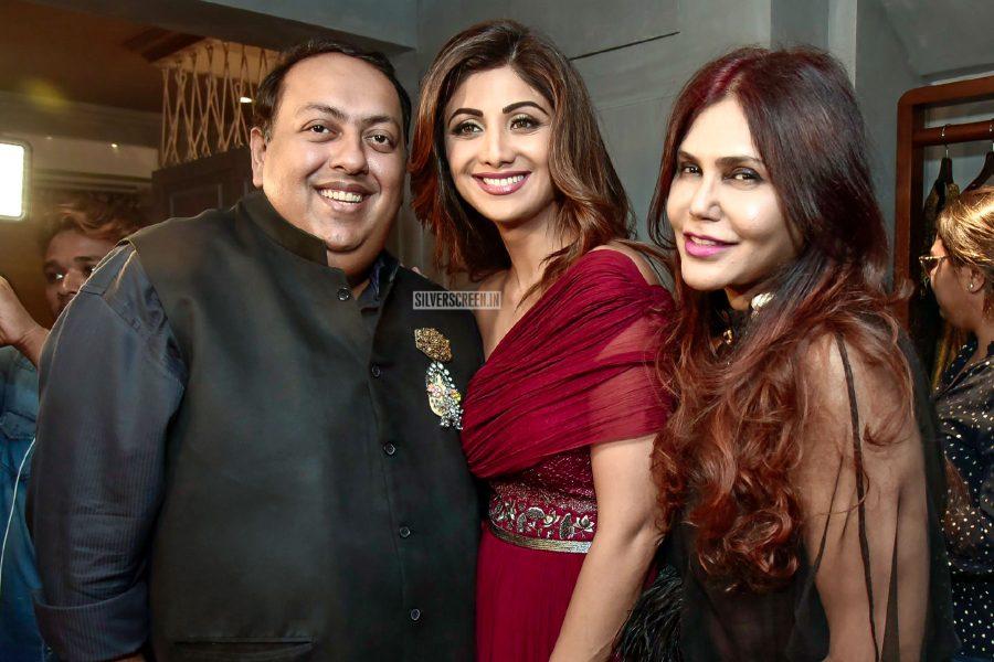 Shilpa Shetty At A Designer Store Launch In Mumbai