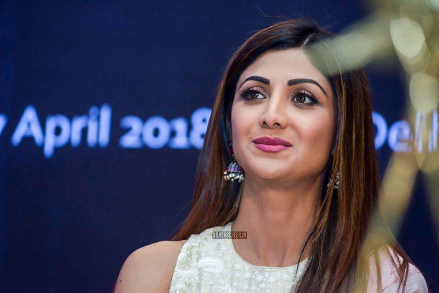 Shilpa Shetty At The Ficci Flo's Wellness 360 Press Meet