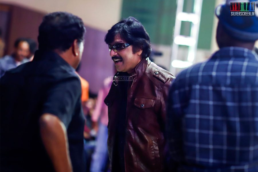 Karthik At The MGR Sivaji Academy Awards