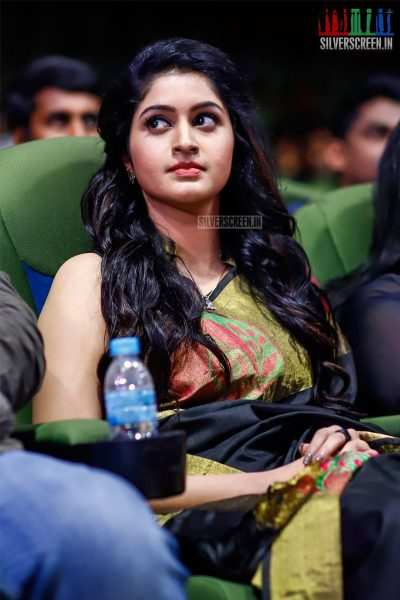 Tanya Ravichandran At The MGR Sivaji Academy Awards