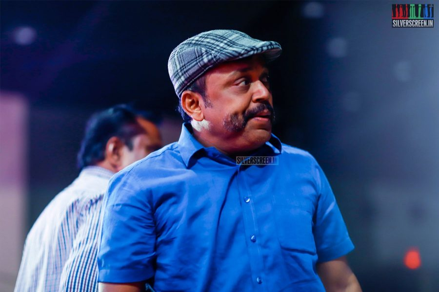 Thambi Ramaiah At The MGR Sivaji Academy Awards