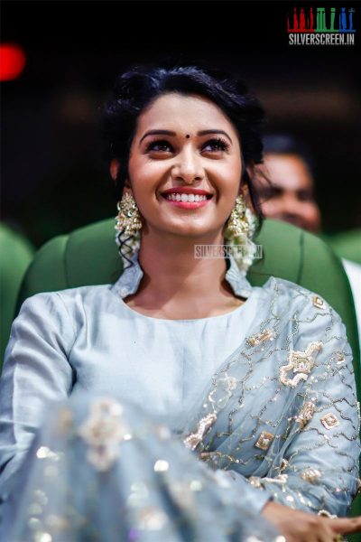Priya Bhavani Shankar At The MGR Sivaji Academy Awards