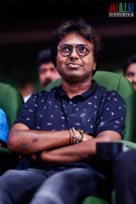 D Imman At The MGR Sivaji Academy Awards