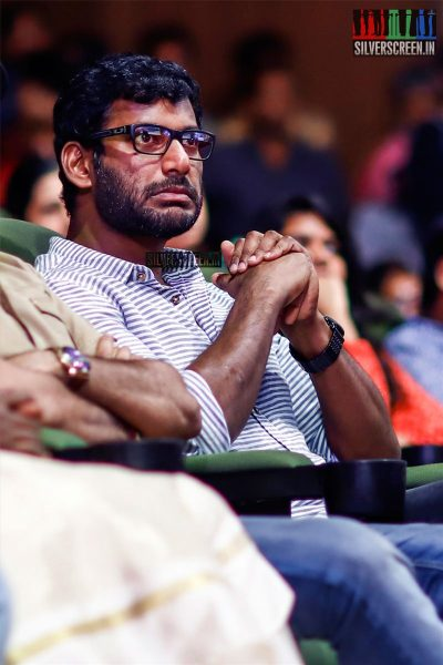 Vishal Krishna At The MGR Sivaji Academy Awards