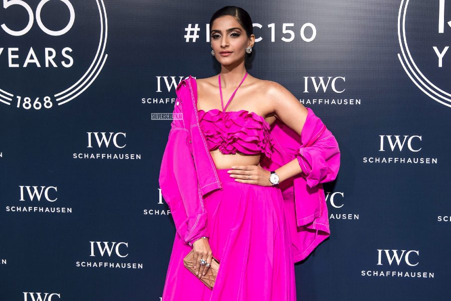 Sonam Kapoor At The IWC's 150th Anniversary Celebrations In Dubai