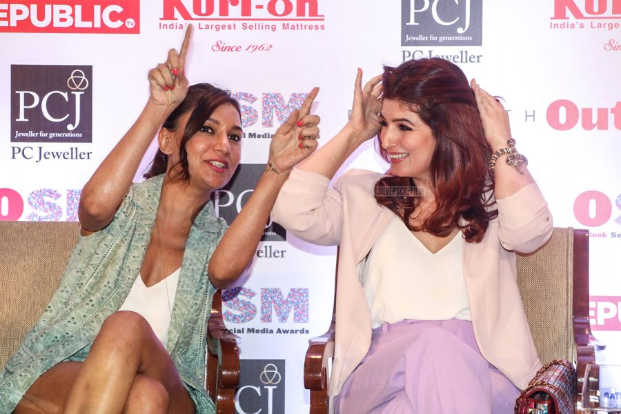 Twinkle Khanna, Tanmay Bhatt, Gul Panag At An Outlook Magazine Event
