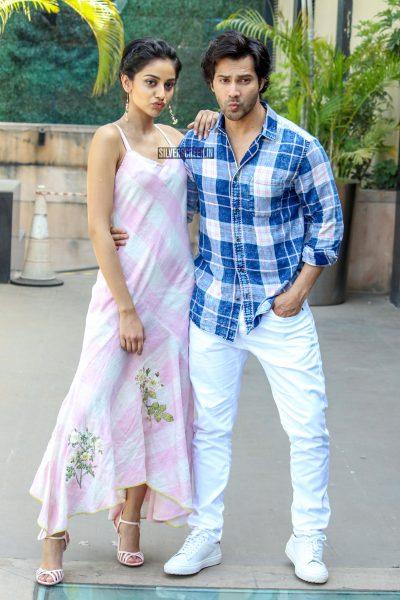 Varun Dhawan, Banita Sandhu During The Promotions Of October
