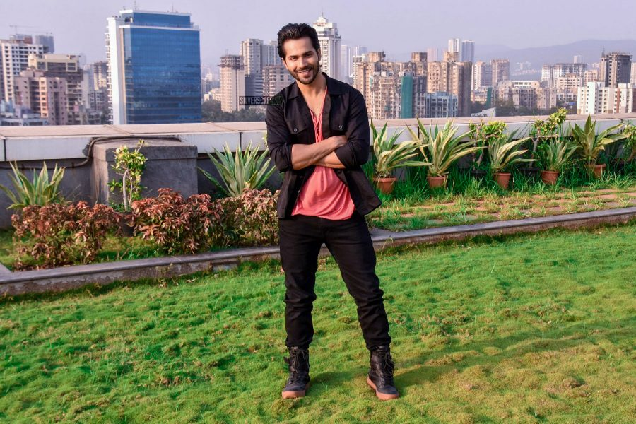 Varun Dhawan During A Photo Shoot In Mumbai Post The Success Of October